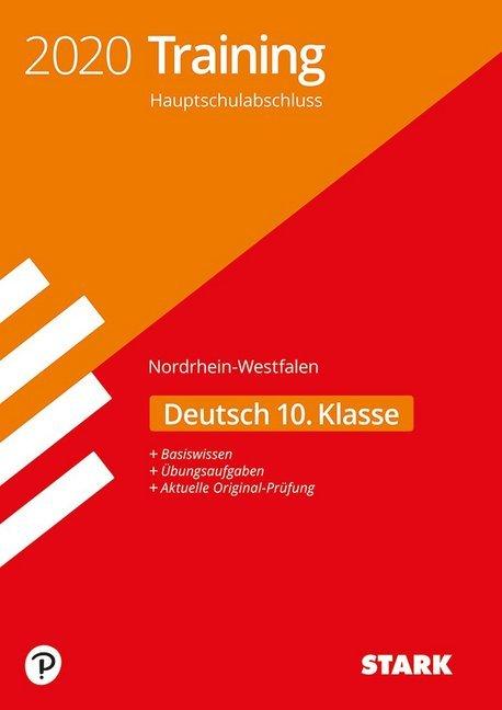 STARK Training Hauptschulabschluss 2020 - Deutsch - NRW als Buch