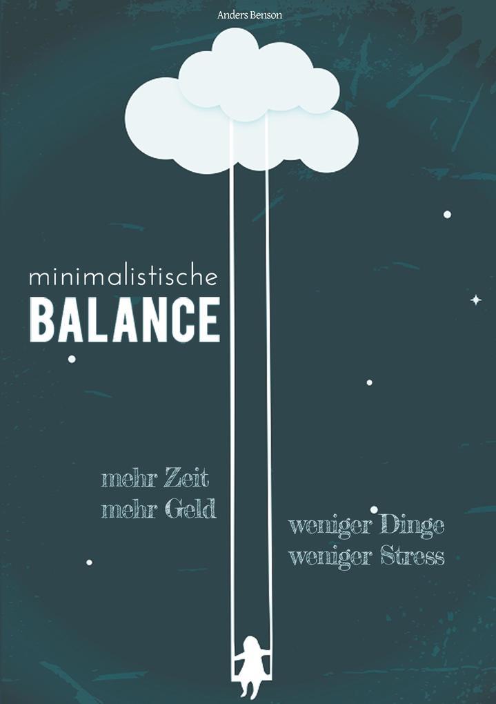 minimalistische Balance als Buch (kartoniert)