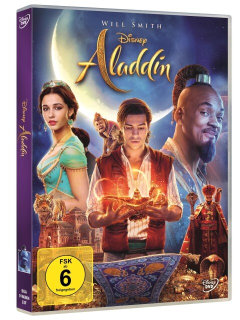 Aladdin als DVD