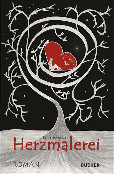 Herzmalerei: Liebesroman als Buch (kartoniert)