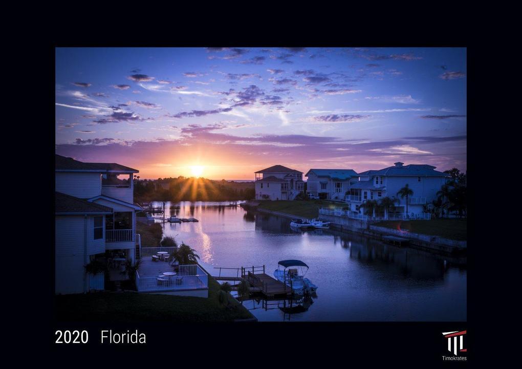 Calendario Din A4.Florida 2020 Edicion Negra Timokrates Calendario De Pared Calendario De Fotos Din A4 Ca 30 X 21 Cm