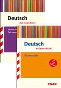 STARK Auf einen Blick! Deutsch - Grammatik + Rechtschreibung