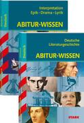 STARK Abitur-Wissen Deutsch - Literaturgeschichte + Interpretationen Epik, Drama, Lyrik
