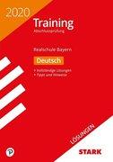 STARK Lösungen zu Training Abschlussprüfung Realschule 2020 - Deutsch - Bayern