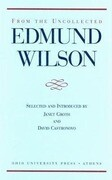 From the Uncollected Edmund Wilson