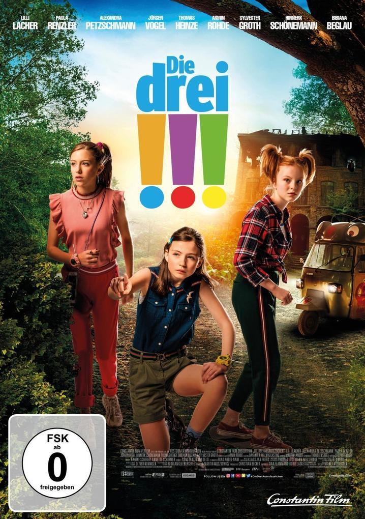 Die drei !!! als DVD