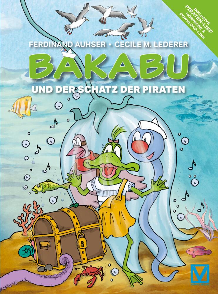 Bakabu und der Schatz der Piraten als Buch