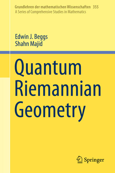 Quantum Riemannian Geometry als Buch (gebunden)