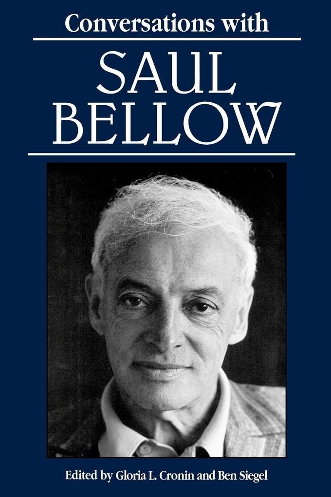 Conversations with Saul Bellow als Taschenbuch