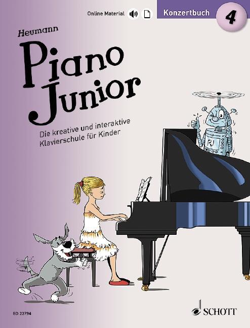 Piano Junior: Konzertbuch 4 als Buch (kartoniert)