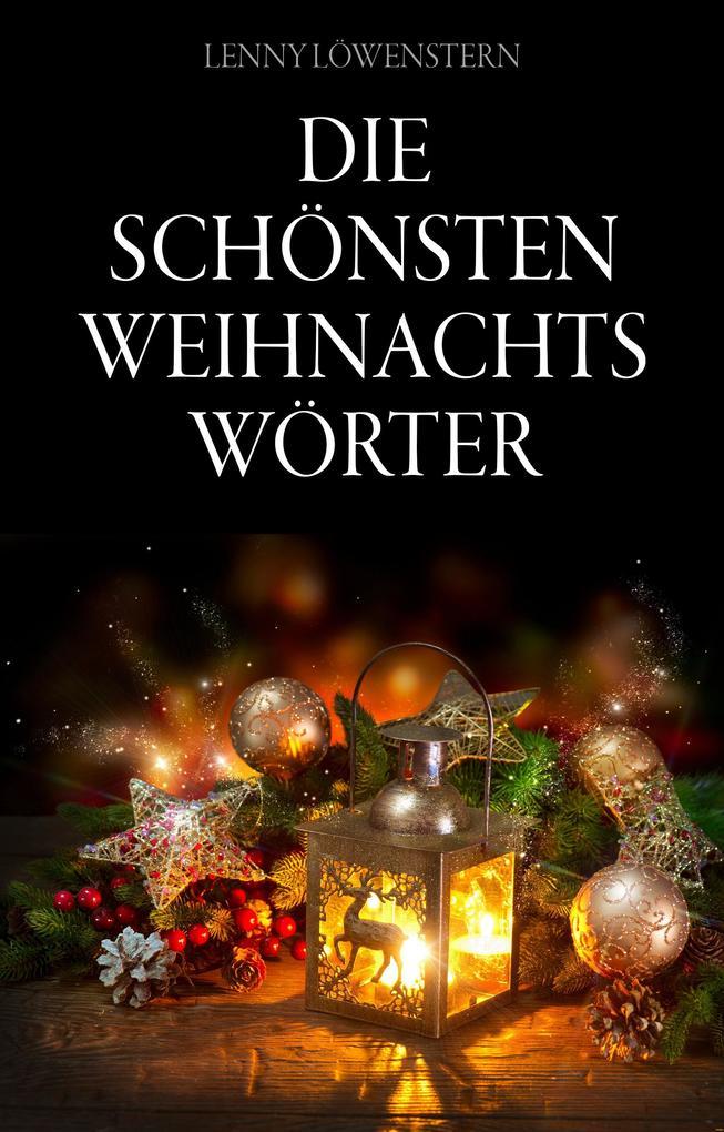 Die schönsten Weihnachtswörter als eBook