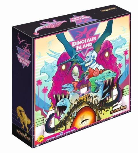 Feuerland - Dinosaur Island, Strategie- & Taktikspiel, Aufbauspiel als sonstige Artikel