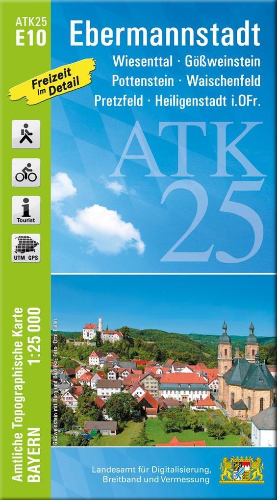 Ebermannstadt 1 : 25 000 als Buch (kartoniert)
