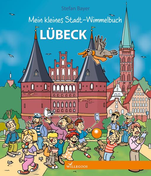 Mein kleines Stadt-Wimmelbuch Lübeck als Buch (kartoniert)