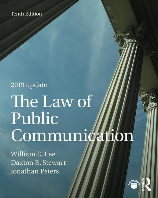 The Law of Public Communication 2019 Update als Taschenbuch
