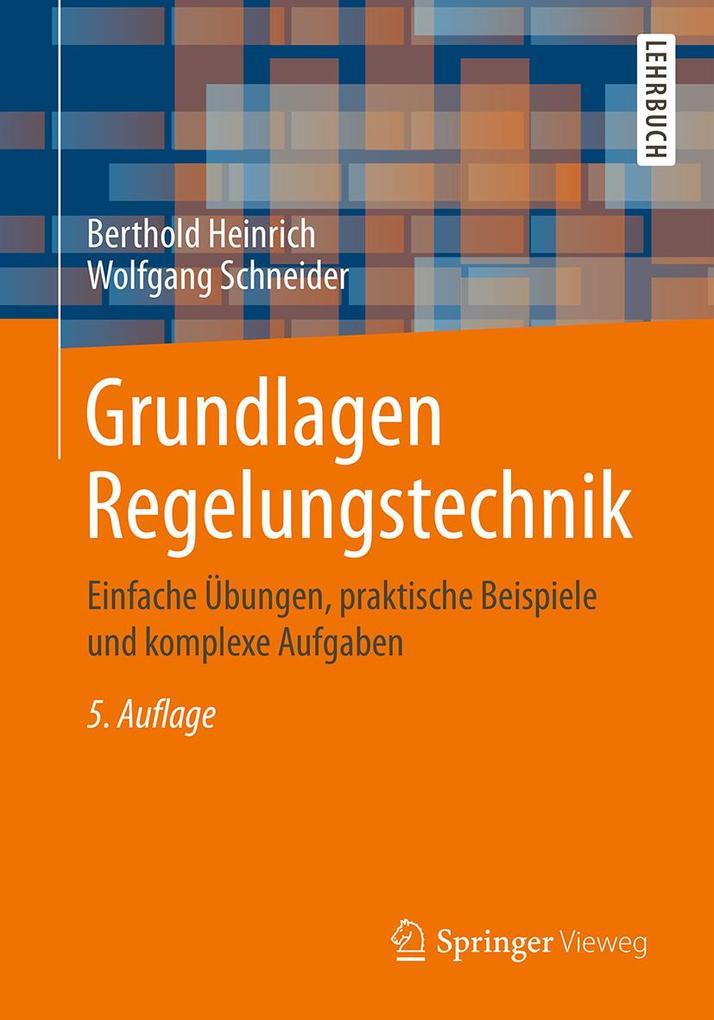 Grundlagen Regelungstechnik als eBook pdf