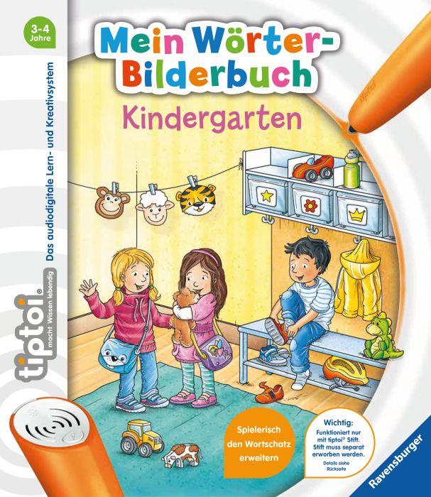tiptoi® Mein Wörter-Bilderbuch Kindergarten als Buch (gebunden)