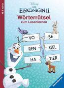 Disney Die Eiskönigin 2: Wörterrätsel zum Lesenlernen
