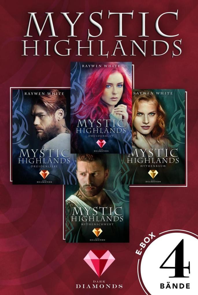Mystic Highlands: Band 1-4 der fantastischen Highland-Reihe in einer E-Box als eBook
