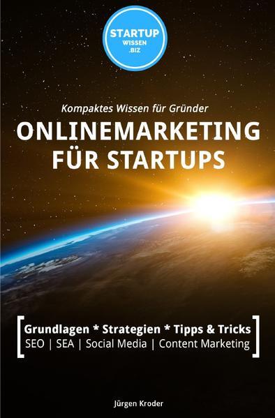Onlinemarketing für StartUps als Buch (kartoniert)
