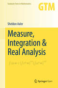 Measure, Integration & Real Analysis