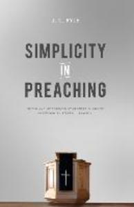 Simplicity in Preaching als Taschenbuch