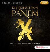 Die Tribute von Panem X. Das Lied von Vogel und Schlange (2mp3 CD)