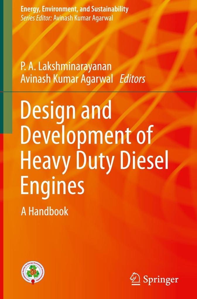 Design and Development of Heavy Duty Diesel Engines als Buch (gebunden)