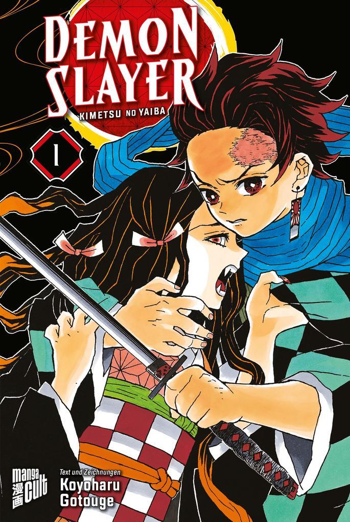 Demon Slayer 1 als Buch (kartoniert)
