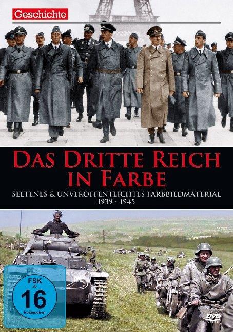 Das Dritte Reich - 1939 - 1945 in Farbe als DVD