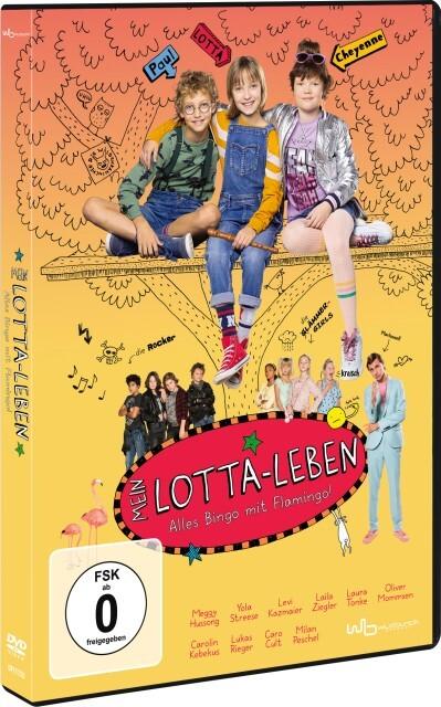 Mein Lotta-Leben - Alles Bingo mit Flamingo! als DVD