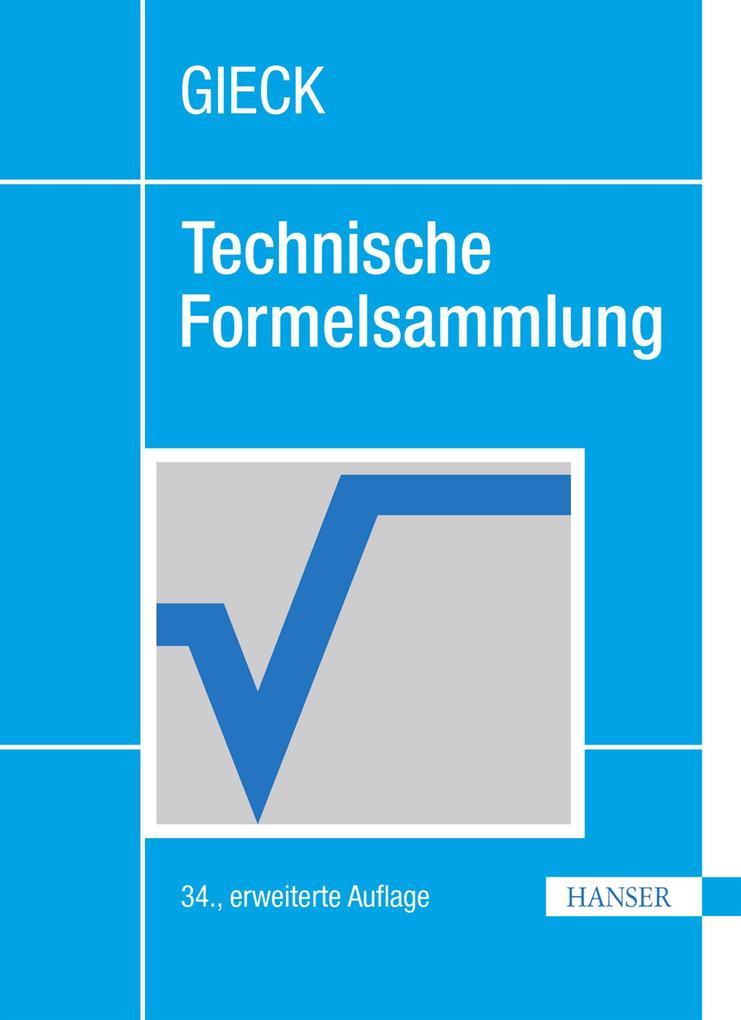 Technische Formelsammlung als eBook pdf