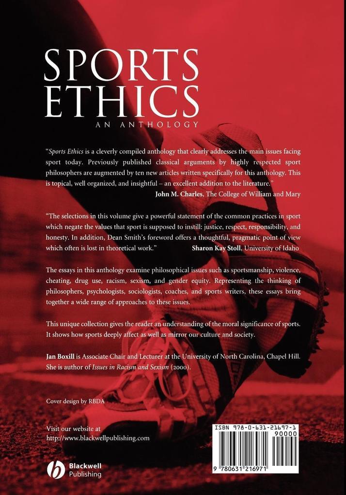 Sports Ethics als Buch von Boxill