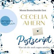 [Cecelia Ahern: Postscript - Was ich dir noch sagen möchte (Gekürzte Lesung)]