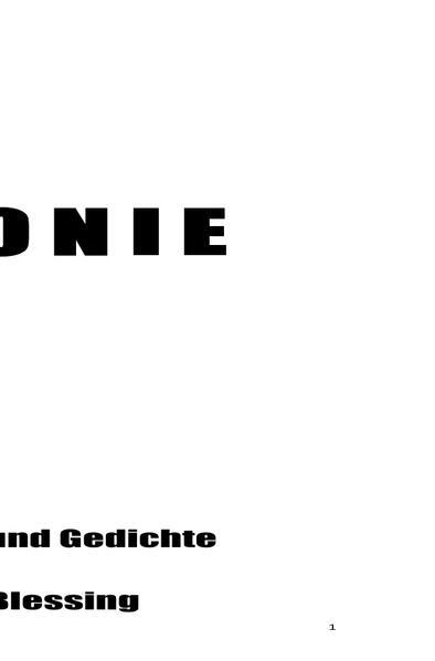 KOLONIE als Buch