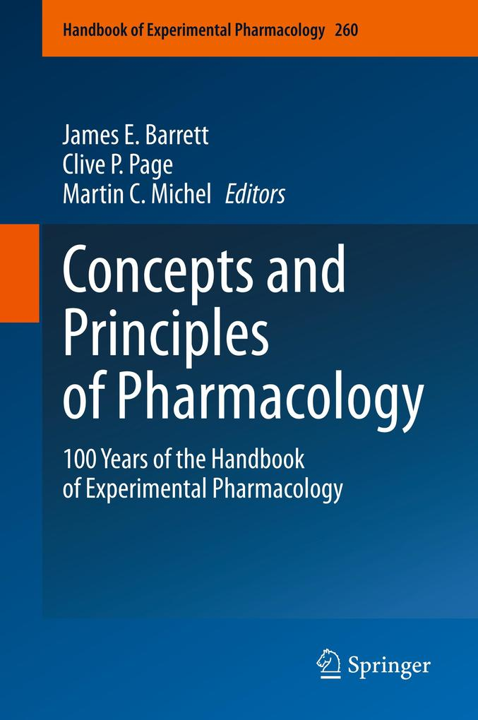 Concepts and Principles of Pharmacology als Buch (gebunden)