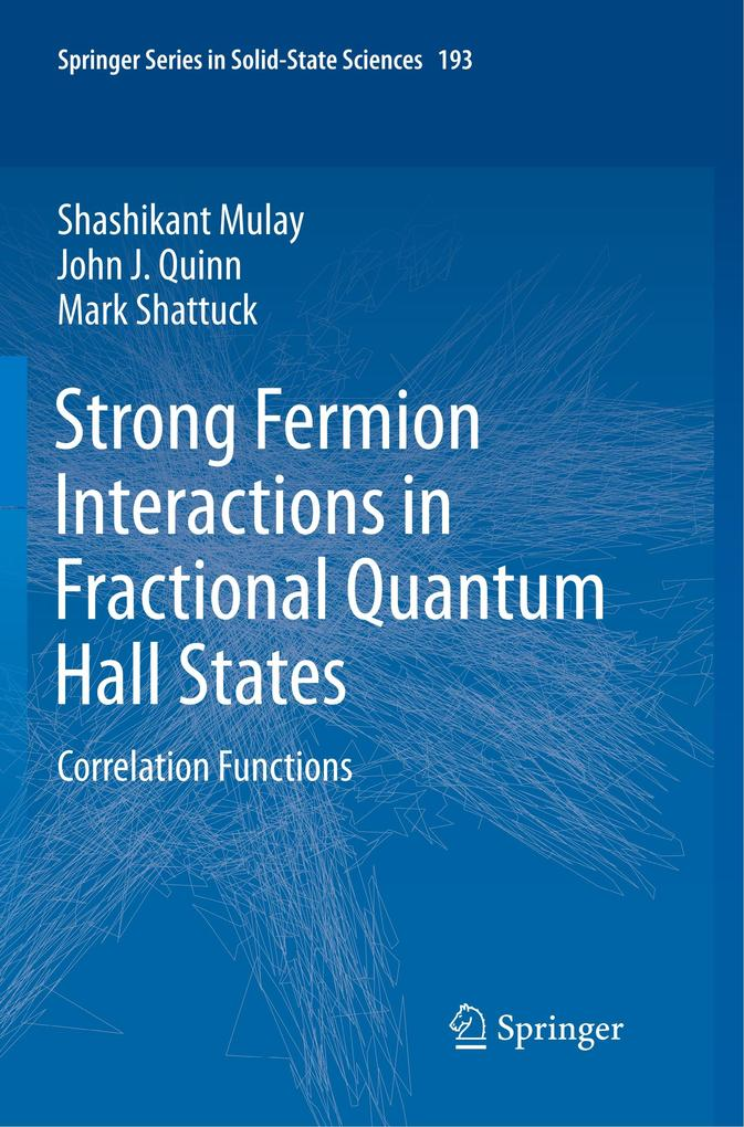 Strong Fermion Interactions in Fractional Quantum Hall States als Buch (kartoniert)