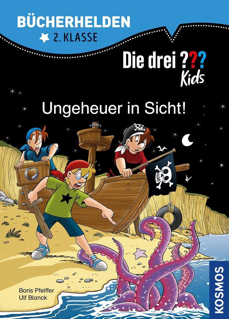 Image of Die drei ??? Kids Bücherhelden 2. Klasse Ungeheuer in Sicht!