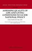 Assessing Quality of Life and Living Conditions to Guide National Policy: The State of the Art
