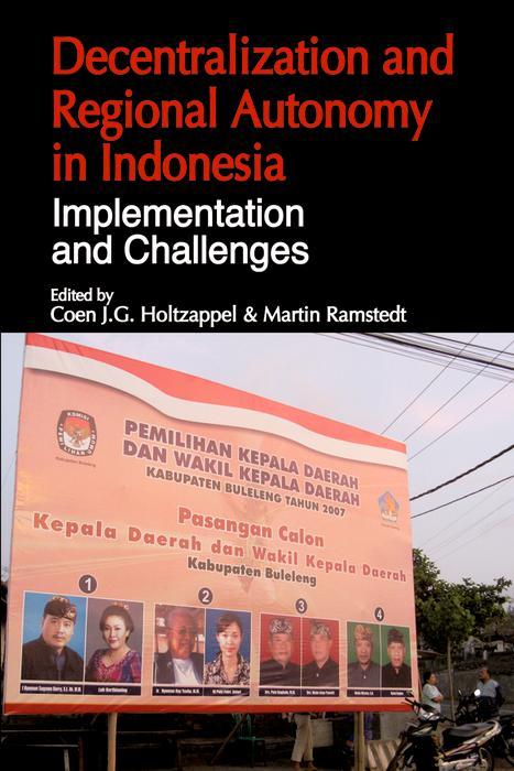 Decentralization and Regional Autonomy in Indonesia als eBook pdf