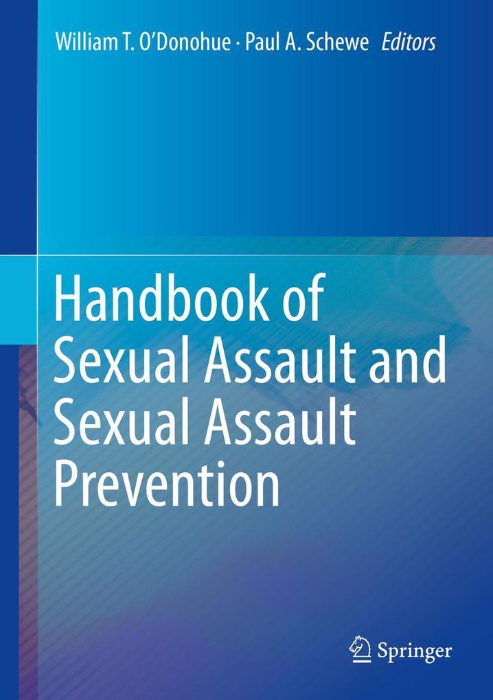 Handbook of Sexual Assault and Sexual Assault Prevention als eBook pdf