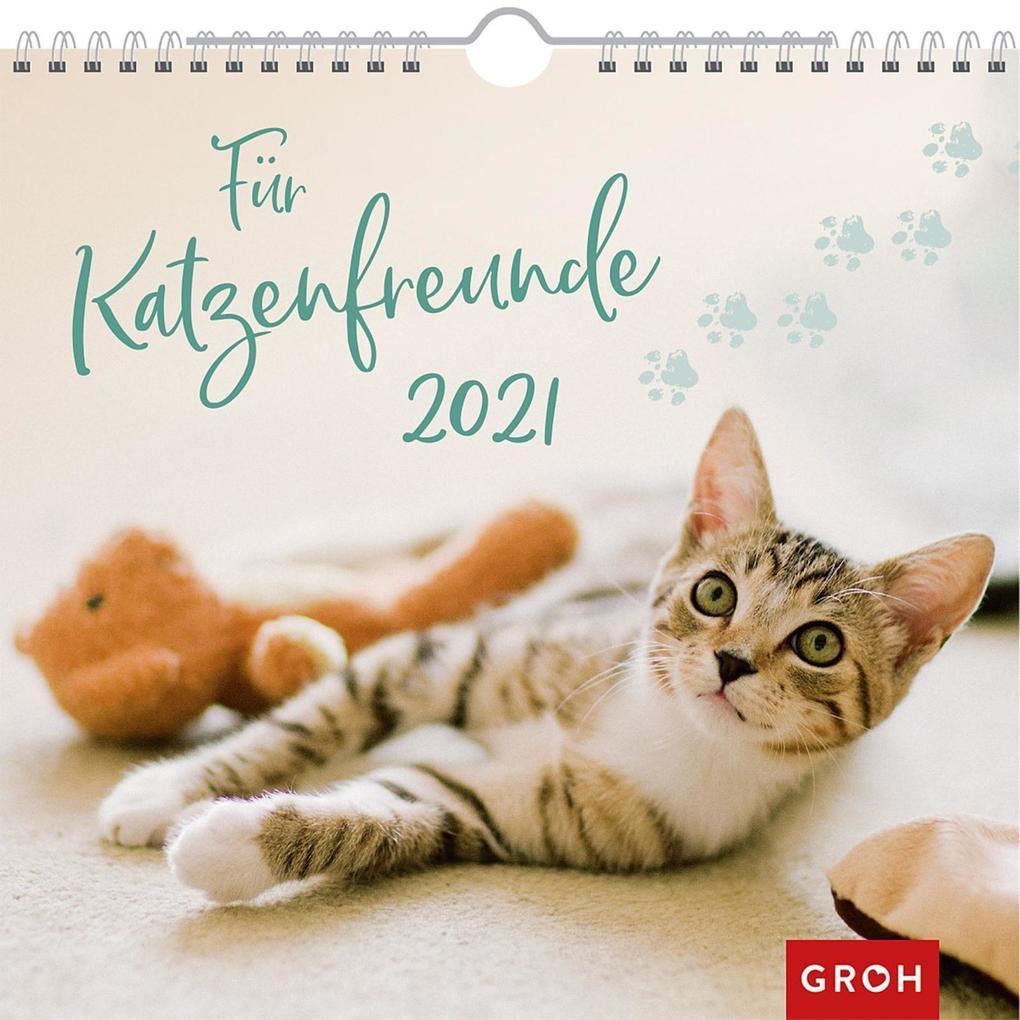 Für Katzenfreunde 2021 als Kalender