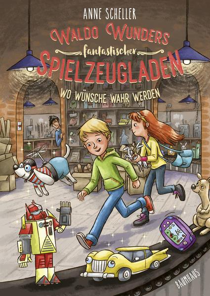 Waldo Wunders fantastischer Spielzeugladen - Wo Wünsche wahr werden als Buch (gebunden)