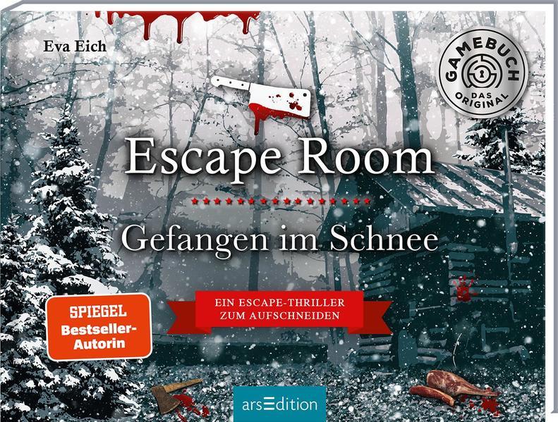Escape Room. Gefangen im Schnee. Das Original: Der neue Escape-Room-Thriller von Eva Eich als Buch (gebunden)