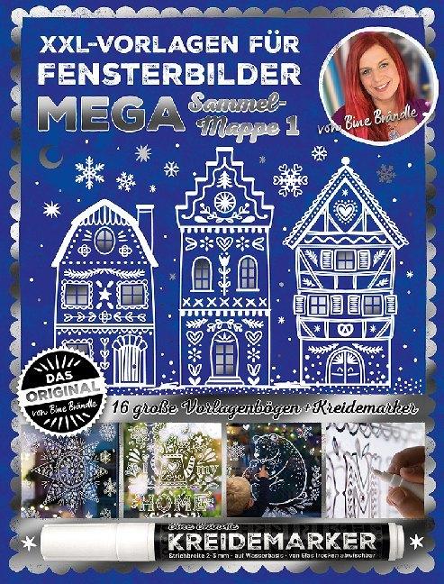Weihnachtliche Fensterbilder Mit Kreidestift 5