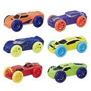 Hasbro Nerf C3171EU4 - Soft Racer 6er Set Nerf Autos