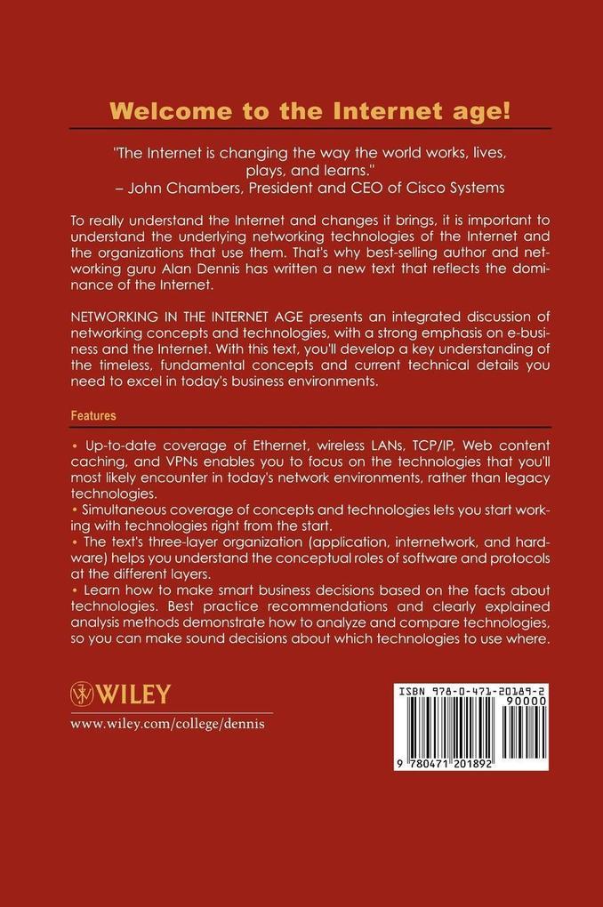 Networking in the Internet Age als Buch von Ala...