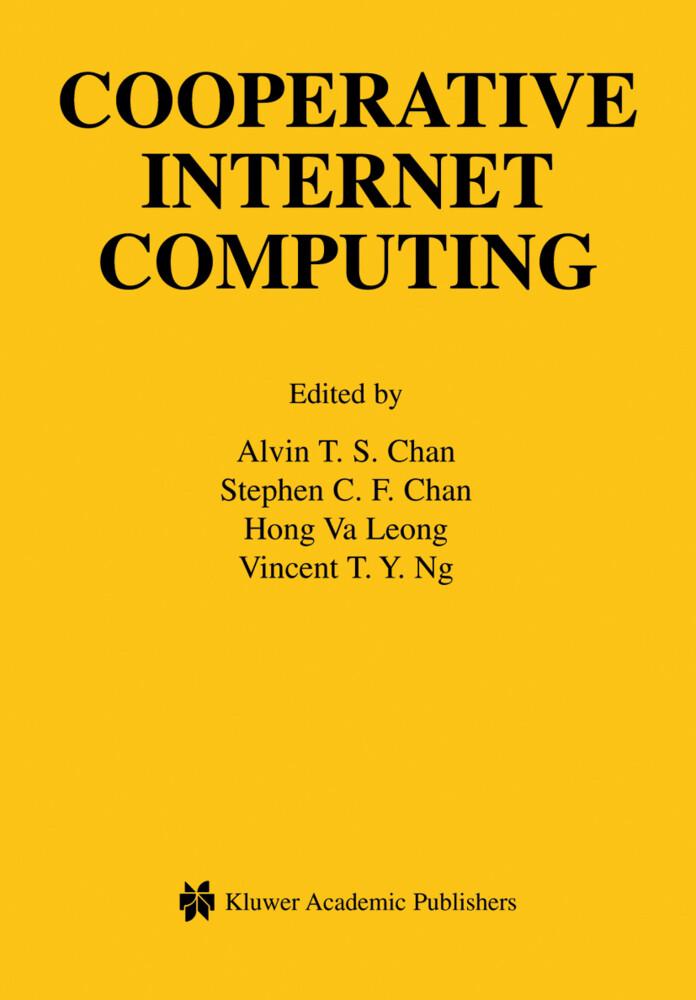 Cooperative Internet Computing als Buch von