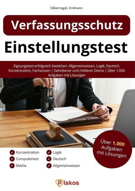 Einstellungstest Verfassungsschutz als Buch (kartoniert)