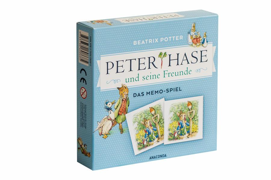 Peter Hase und seine Freunde - Das Memo-Spiel als Spielware